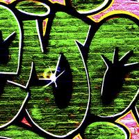 Buy canvas prints of Graffiti 18 by Alan Harman