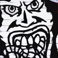 Buy canvas prints of Graffiti 16 by Alan Harman