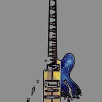 Buy canvas prints of Guitar 4 by Alan Harman