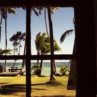 Buy canvas prints of Tropical Fiji Beach Scene by Alan Harman