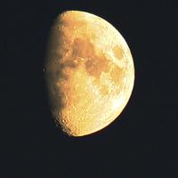 Buy canvas prints of Big Old Moon by Alan Harman