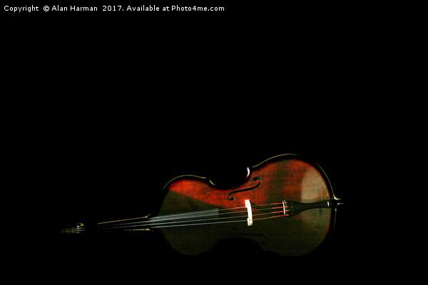 Bass 3 Canvas Print by Alan Harman