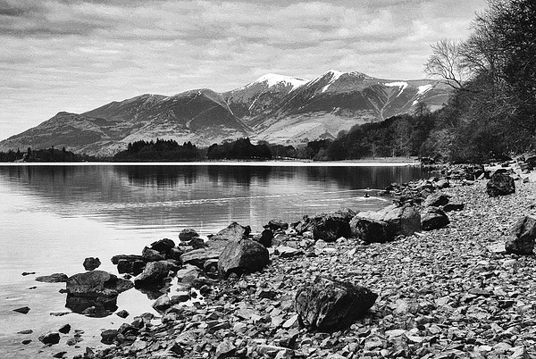 Derwent Water Canvas print by Paul Want