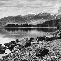Buy canvas prints of Derwent Water by Paul Want