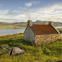 Buy canvas prints of Scottish loch by nick coombs