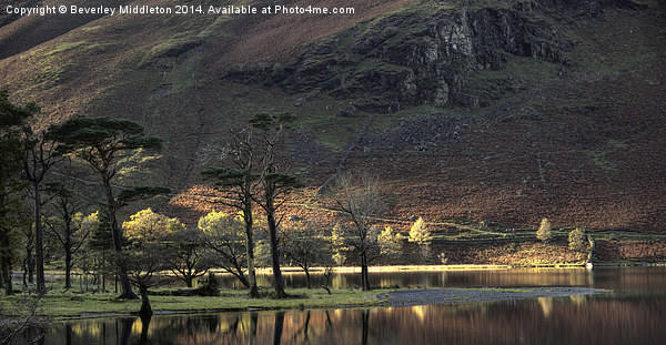Buttermere Canvas print by Beverley Middleton