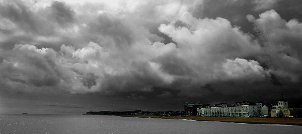 Stormy times ahead Canvas print by Gordon Holmes