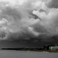 Buy canvas prints of  Stormy times ahead by Gordon Holmes