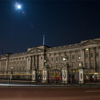 Buy canvas prints of Buckingham Palace by Michal Bakala