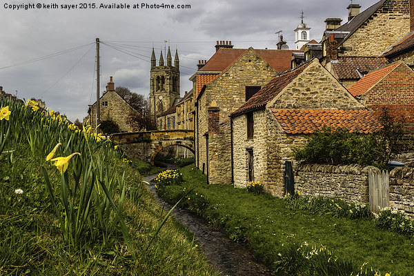 Helmsley Canvas print by keith sayer