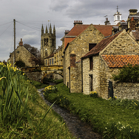 Buy canvas prints of  Helmsley by keith sayer