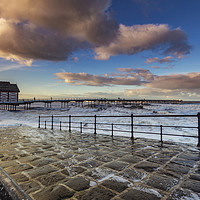 Buy canvas prints of Saltburn Pier by keith sayer