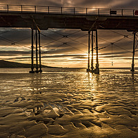 Buy canvas prints of Saltburn Gold by keith sayer