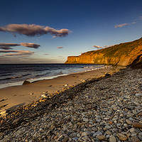 Buy canvas prints of Bathed in the evening light by keith sayer