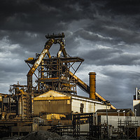 Buy canvas prints of Redcar Blast Furnace by keith sayer