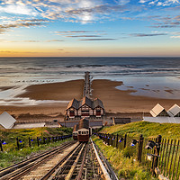 Buy canvas prints of Looking down to the pier by keith sayer