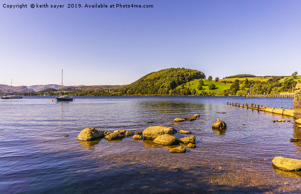 Ullswater Lake District Canvas print by keith sayer