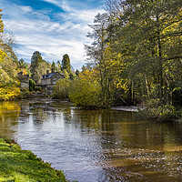 Buy canvas prints of Autumn at Egton Bridge by keith sayer