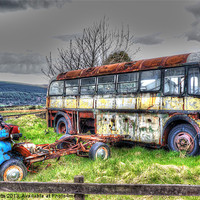 Buy canvas prints of Seen better days! by colin potts