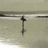 Buy canvas prints of Wheres the surf? by chris wood