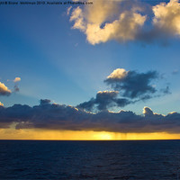 Buy canvas prints of Hawaii Pacific ocean by Diane  Mohlman