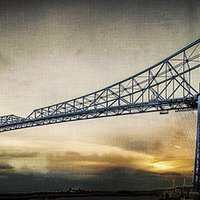 Buy canvas prints of  Steel Icon by richard sayer