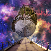 Buy canvas prints of  Interstellar Stroll by richard sayer