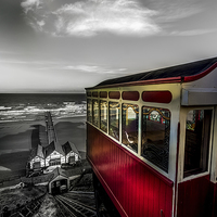 Buy canvas prints of  Ticket to Ride by richard sayer