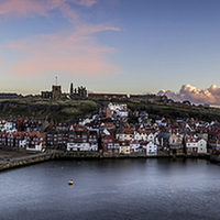 Buy canvas prints of  Whitby Harbour by richard sayer