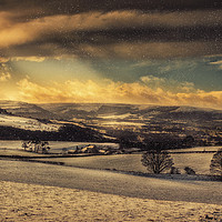 Buy canvas prints of Winterscape by richard sayer