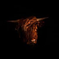 Buy canvas prints of Highland Portrait by richard sayer