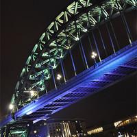 Buy canvas prints of Tyne Bridge by Edward Budd