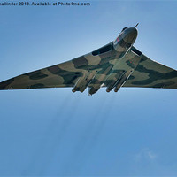 Buy canvas prints of vulcan bomber by simon mallinder