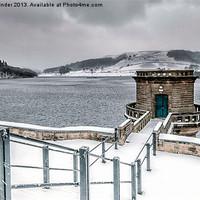 Buy canvas prints of ladybower reservoir by simon mallinder