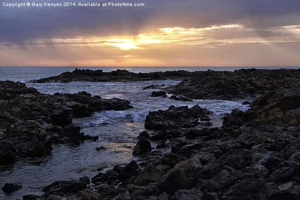 Fuerteventura Sunrise Canvas Print by Gary Kenyon