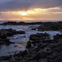 Buy canvas prints of   Fuerteventura Sunrise by Gary Kenyon