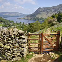 Buy canvas prints of  Looking Towards Ullswater by Gary Kenyon