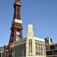Buy canvas prints of  Blackpool Tower by Gary Kenyon