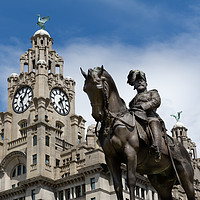 Buy canvas prints of Liver Building Liverpool by Gary Kenyon