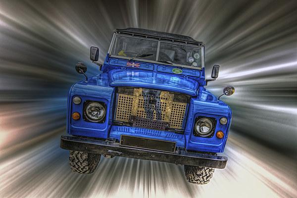 Land Rover Canvas print by Thanet Photos