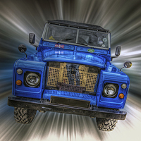 Buy canvas prints of Land Rover by Thanet Photos