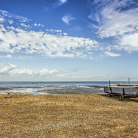 Buy canvas prints of boat on the beach by Thanet Photos