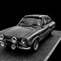Buy canvas prints of Ford Escort Mexico by Thanet Photos