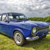 Buy canvas prints of MK! Ford Escort by Thanet Photos