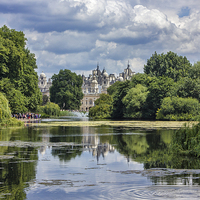 Buy canvas prints of St James park  by Thanet Photos