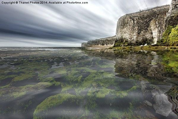 See through the Sea Canvas print by Thanet Photos