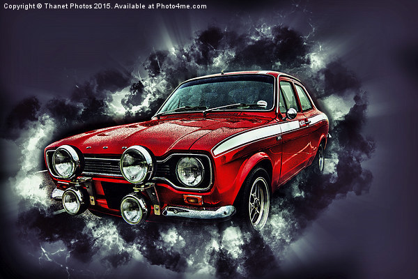 Ford Escort Mexico RS2000 Canvas print by Thanet Photos