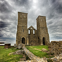 Buy canvas prints of Recover towers and Roman fort by Thanet Photos