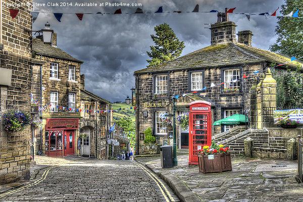 Haworth Main Street Canvas Print by Steve Clark