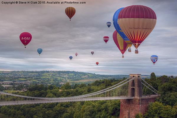 02 Bristol Balloon Fiesta Canvas print by Steve H Clark